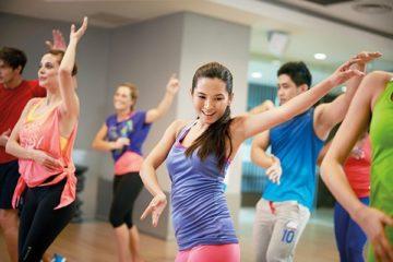 เต้นออกกำลังกาย